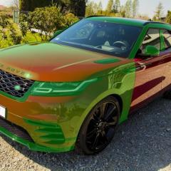 Range Rover Velar - optymalne zabezpieczenie foliami ochronnymi oraz zestawem powłok ceramicznych