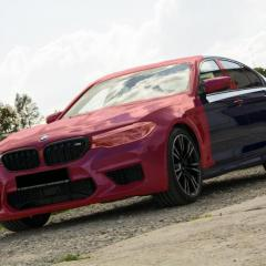 BMW M5 F90 - bezbarwne folie ochronne + Fireball DokDo