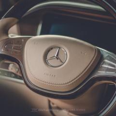 Mercedes S500 - 5-letnia powłoka Gyeon Mohs+, odświeżenie wnętrza