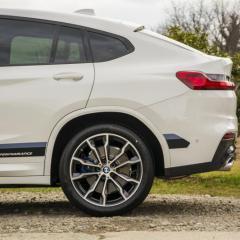BMW X4 bezbarwne folie ochronne + powłoki ceramiczne
