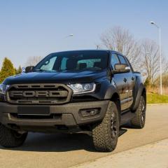 Ford Ranger Raptor Całościowe zabezpieczenie pojazdu foliami ochronnymi oraz wybrane elementy Bullet